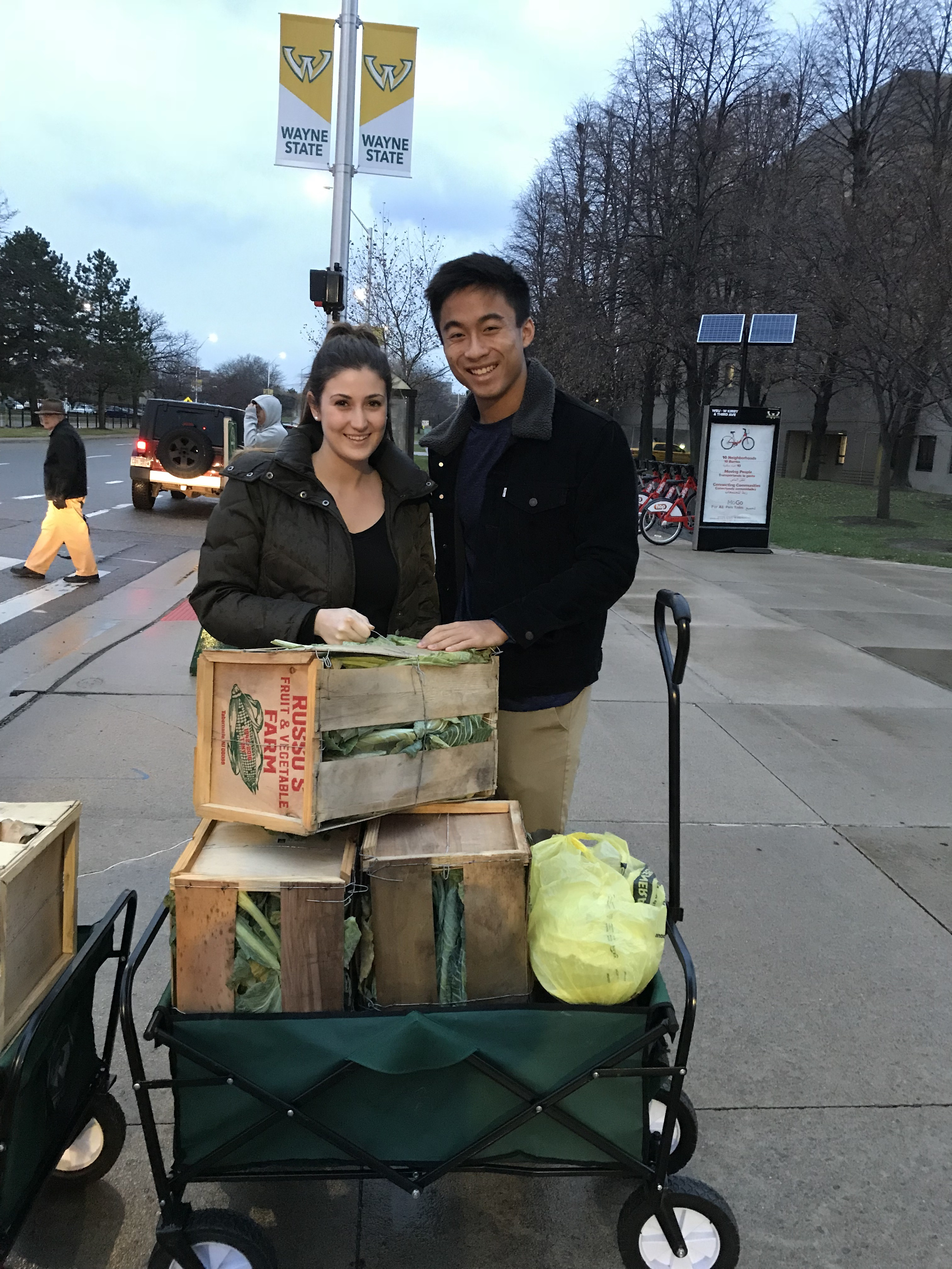 Two Honors Students Have Come Up With An Answer To The Age Old Question:  What To Do With All Of That Excess Prepared Food From Campus Events?